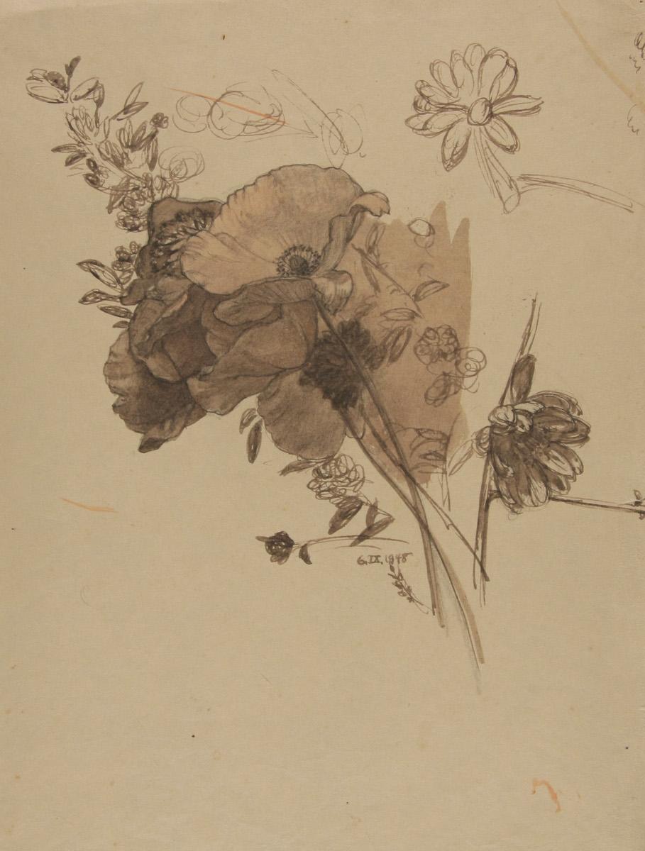 Nr. 332 Blumenstudie